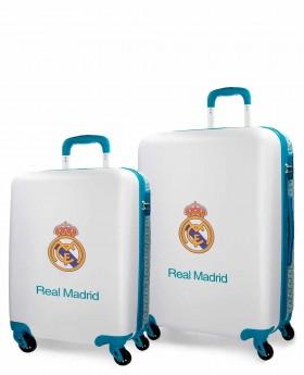 Juego de Maletas Real Madrid Leyenda Azul Pacífico | Maletia.com