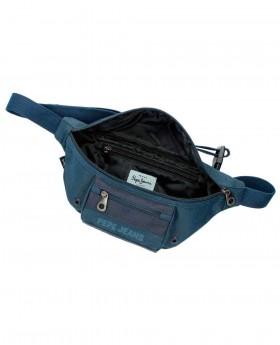 Riñonera Pepe Jeans Greenwich Azul - 34cm | Maletia.com