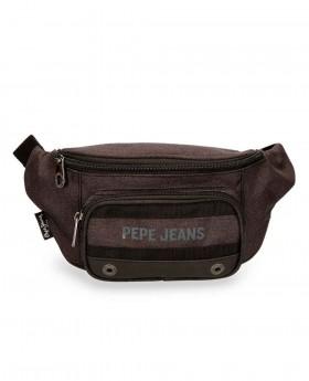 Riñonera Pepe Jeans Greenwich Negra - 35cm | Maletia.com