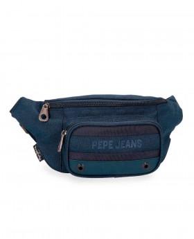Riñonera Pepe Jeans Greenwich Azul - 35cm | Maletia.com