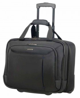 Maletín con ruedas Samsonite Guardit Up Negro - 45cm | Maletia.com