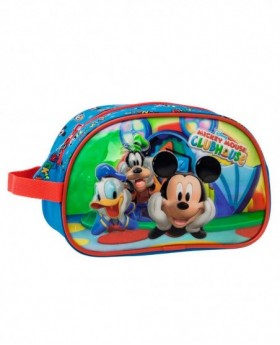 Neceser Disney Mickey & Friends Azul - 22cm | Maletia.com