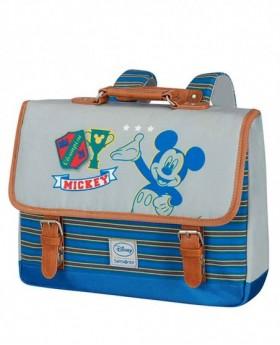Samsonite Disney Stylies Mickey Mochila S preescolar Azul 0