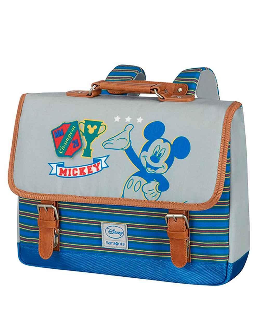 Samsonite Disney Stylies Mickey Mochila S preescolar Azul (Foto )