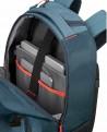 "Samsonite Rewind 16"" Mochila portátil Azul Pacífico con ruedas (Foto 6)"