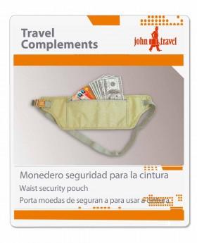 Monedero de seguridad John Travel - 20cm | Maletia.com