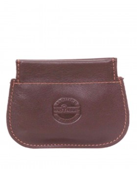 Monedero Piel Nature Brandy - 10cm | Maletia.com