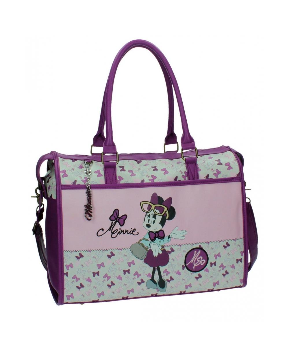 Minnie Glam Bolsa viaje Lila (Foto )