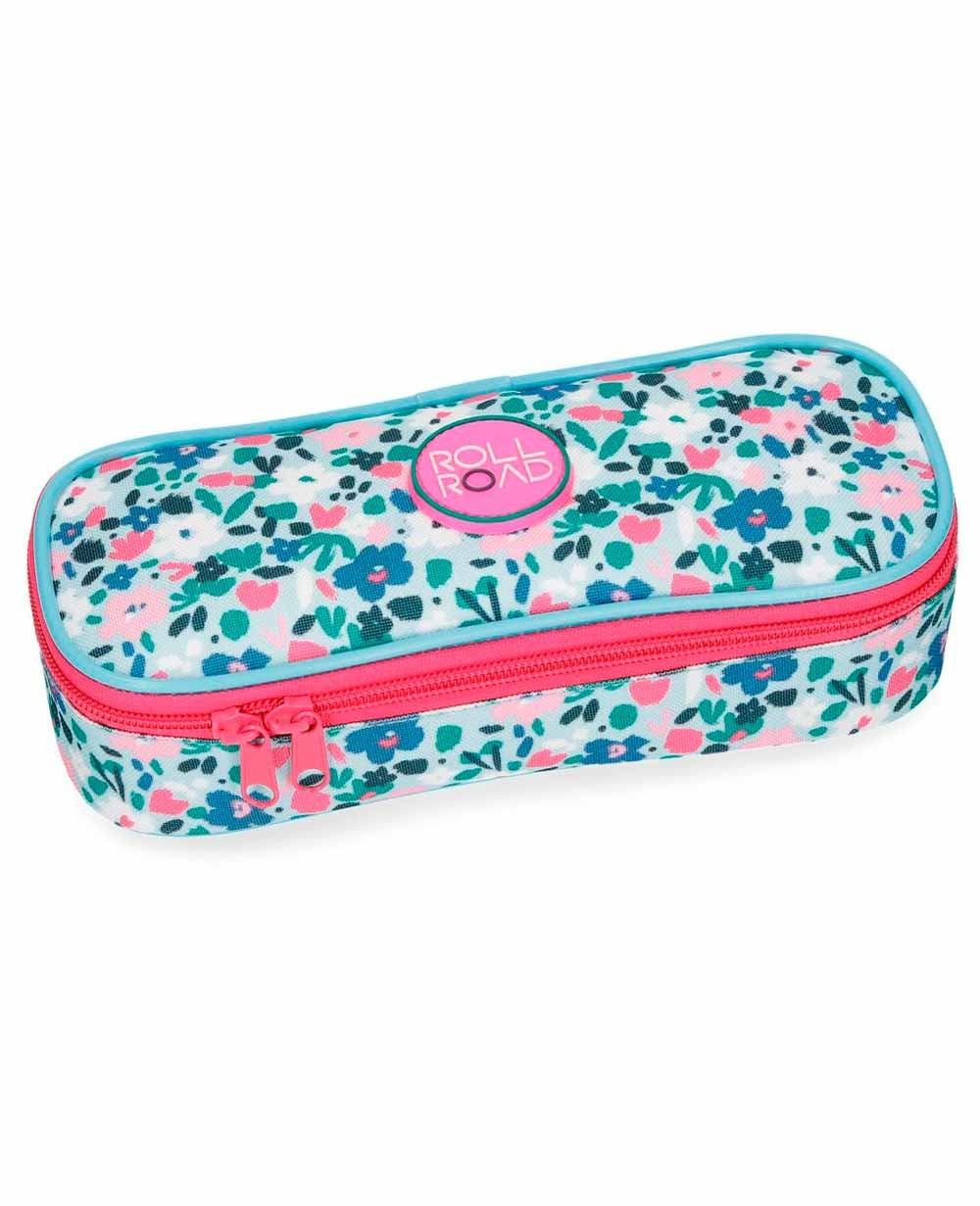 Roll Road Pretty Blue Estuche Azul Estampado (Foto )