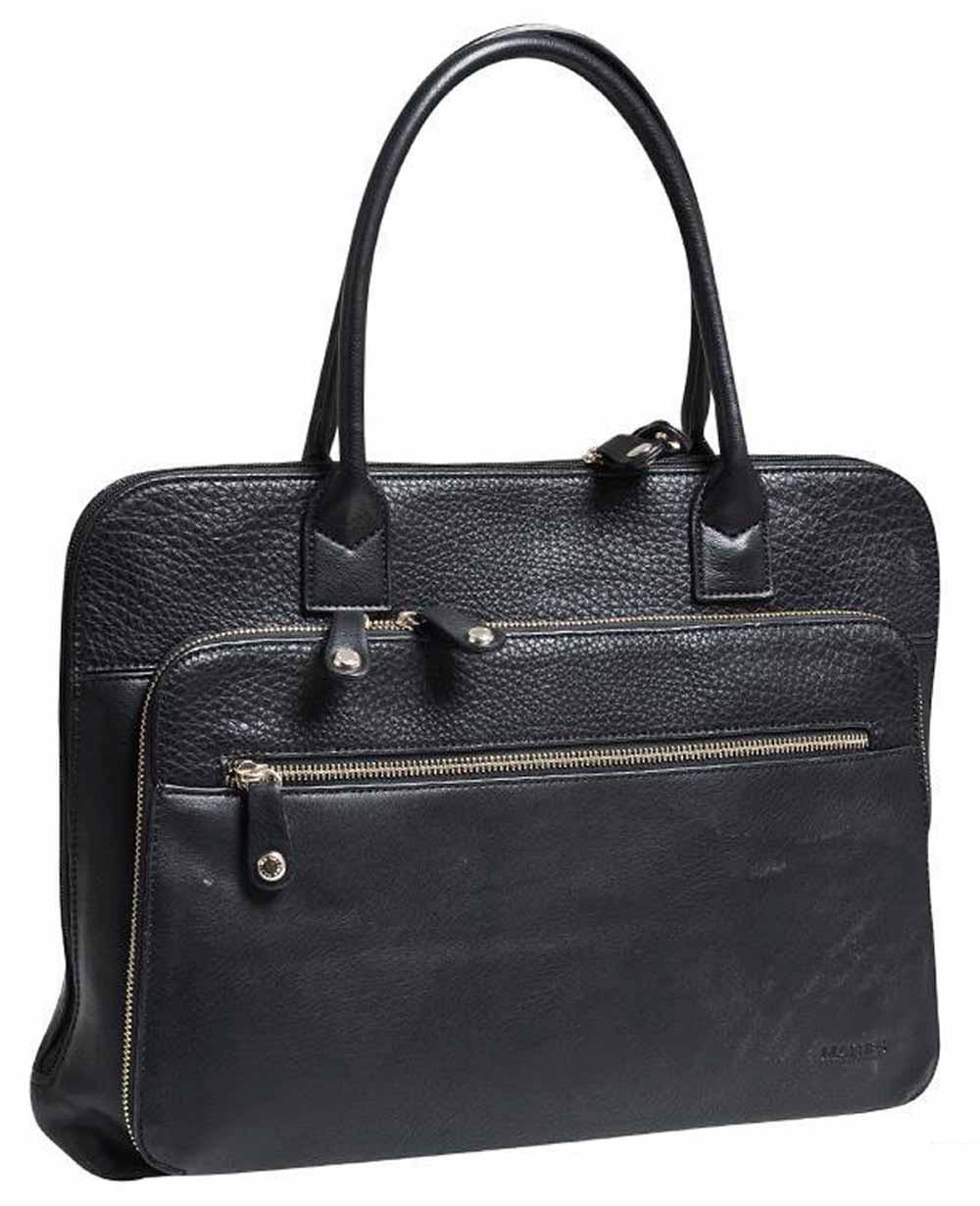"Matties Bags 15.6"" Portadocumentos Negro (Foto )"