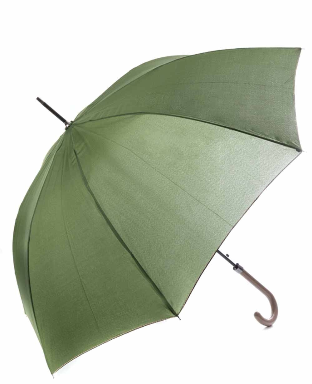 C-Collection Paraguas largo automático Verde (Foto )
