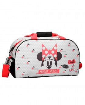 Bolsa de Viaje Disney - Minnie Wow Blanca | Maletia