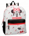 Minnie Wow Mochila adaptable Blanca (Foto 1)