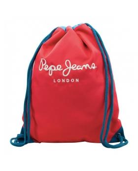 Gymsack Pepe Jeans Bicolor Boy Rojo - 42cm | Maletia.com