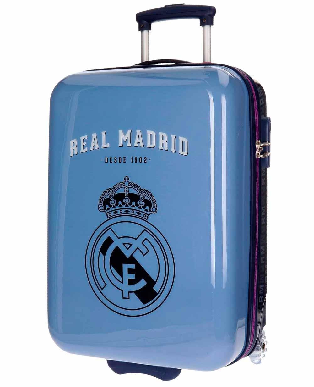 Real Madrid Hala Madrid Maleta de mano Azul (Foto )