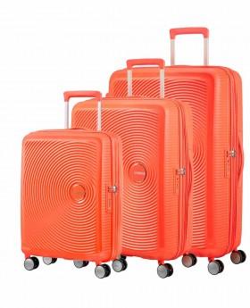 Juego de Maletas American Tourister Soundbox Naranja | Maletia.com