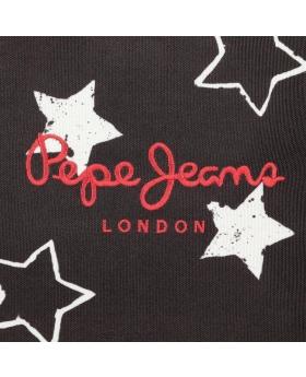 Gymsack Pepe Jeans Jessa Negro - 46cm | Maletia.com