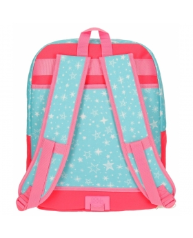 Mochila adaptable Roll Road Unicorn Coral - 44cm | Maletia.com