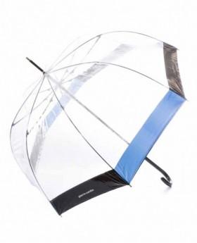 Pierre Cardin Paraguas largo automático Transparente 0