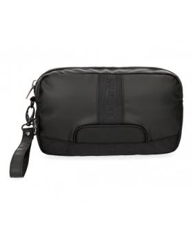 Bolso de mano Pepe Jeans Bromley Negro - 25cm | Maletia.com