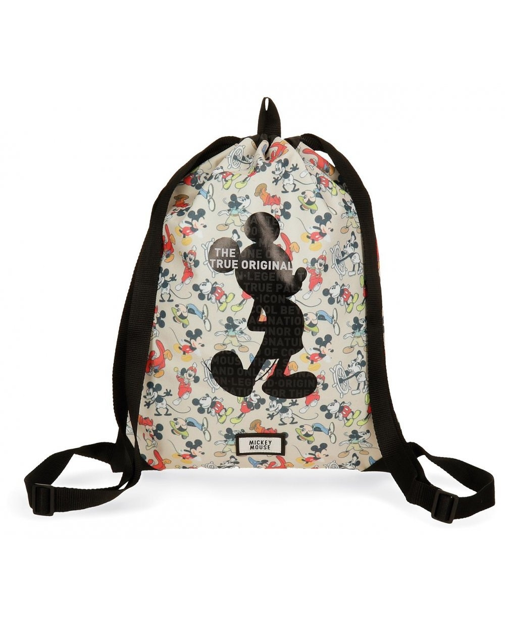 Mickey True Gymsack Blanco (Foto )