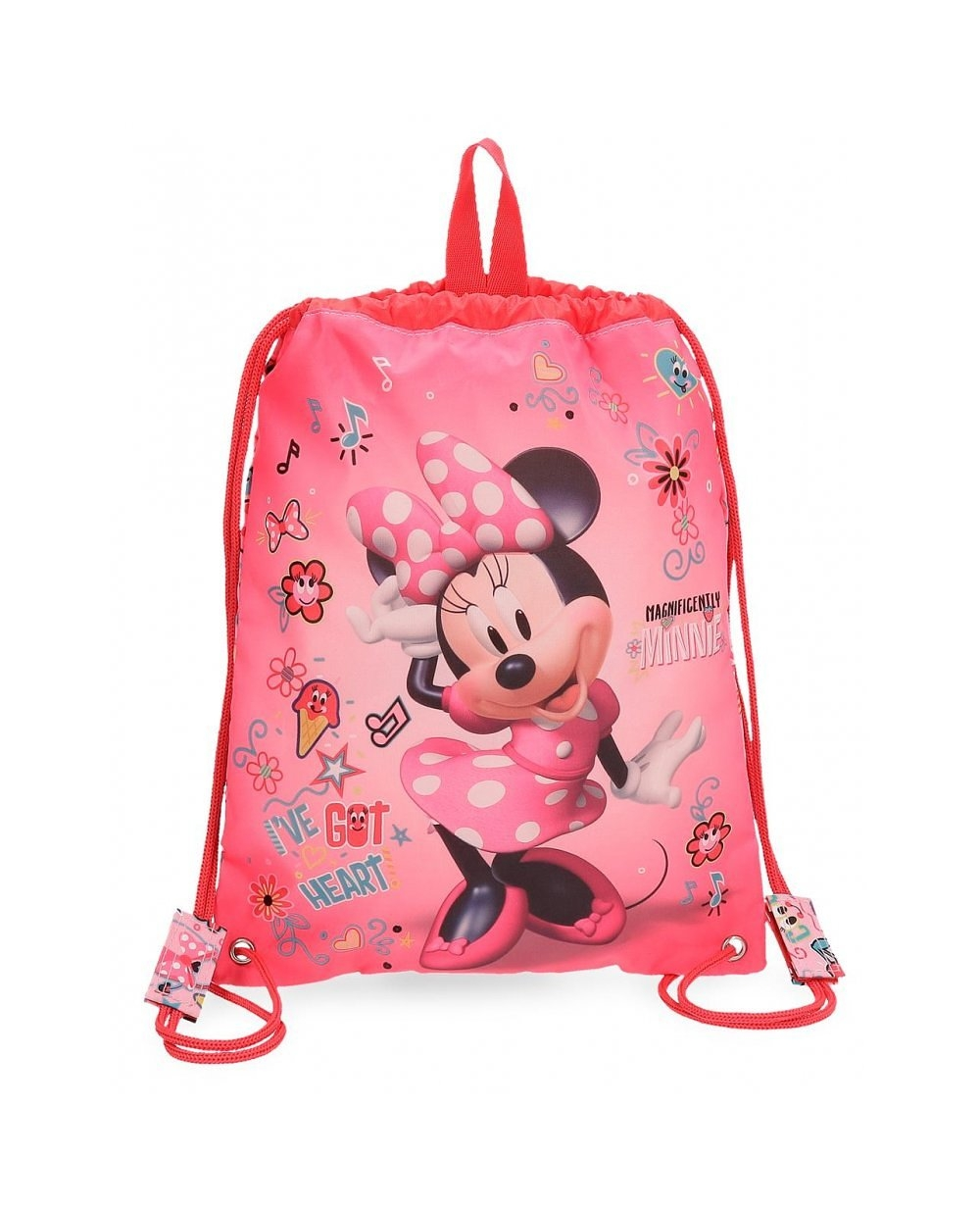 Minnie Stickers Gymsack Rosa (Foto )