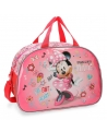 Disney Minnie Stickers Bolsa de viaje Rosa (Foto 6)