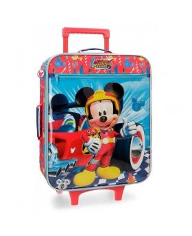 Maleta de mano Disney Mickey Winner Roja - 50cm | Maletia.com