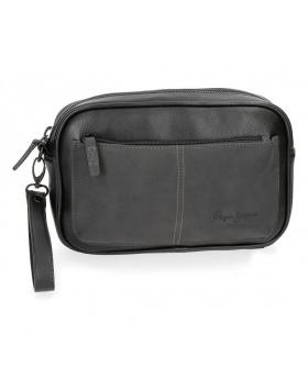 Bolso de mano Pepe Jeans Cranford Negro - 24cm | Maletia.com
