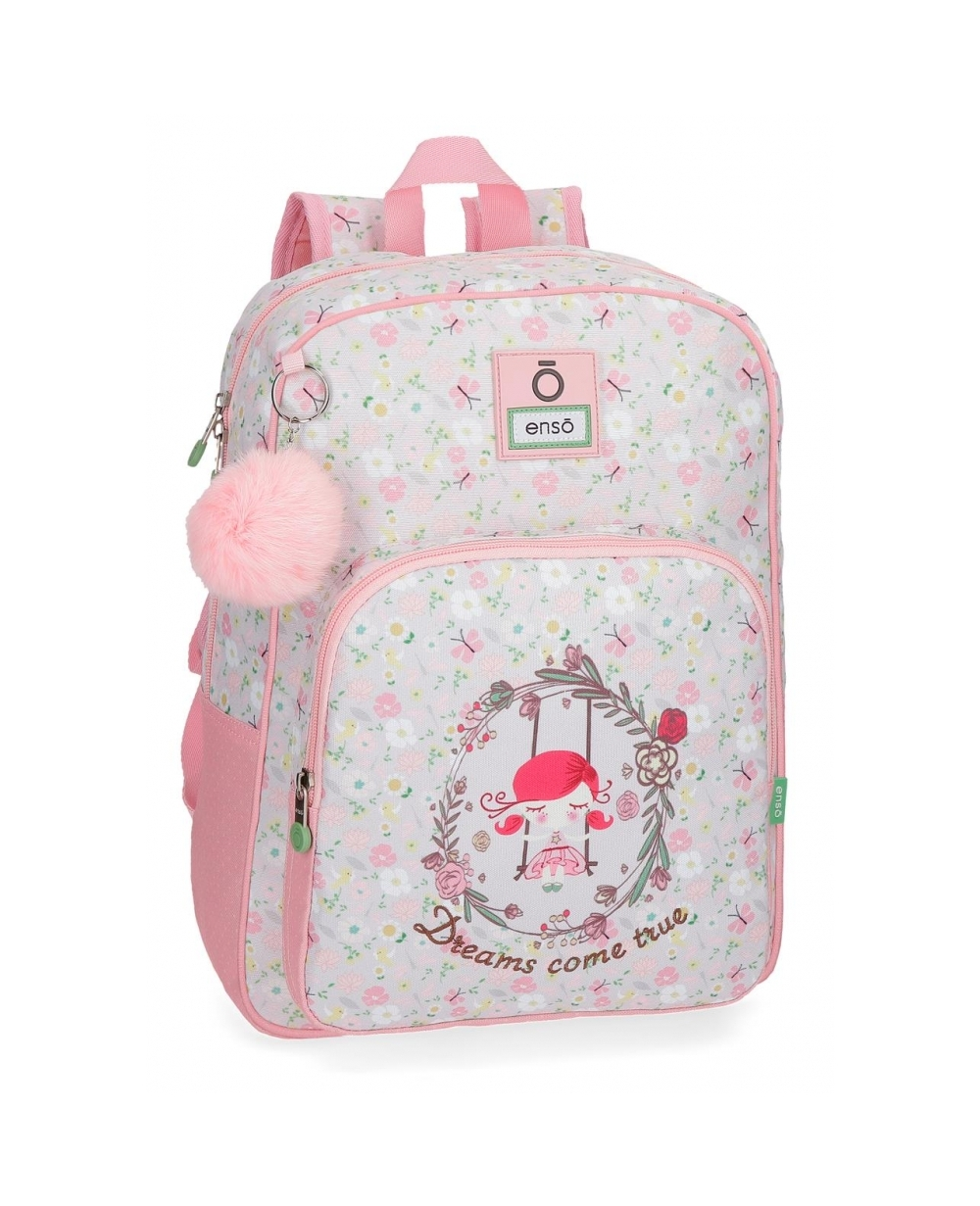 0faef255f95 Enso Dreams Mochila adaptable Rosa