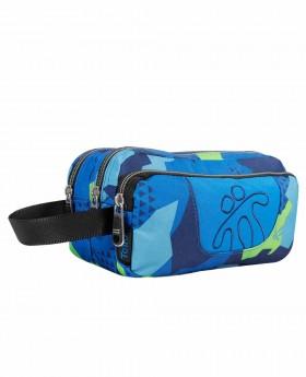 Neceser Totto Agapec Azul - 23cm | Maletia.com