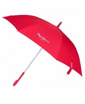 Paraguas Pepe Jeans Holloway Largo Rojo - 95cm | Maletia.com