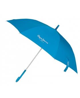 Paraguas Pepe Jeans Holloway Largo Azul - 95cm | Maletia.com