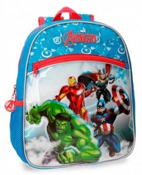 Marvel Avengers Clouds Mochila preescolar adaptable Azul 0