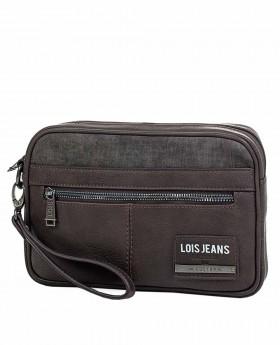 Bolso de mano Lois Teslin Marrón de 25cm | Maletia.com