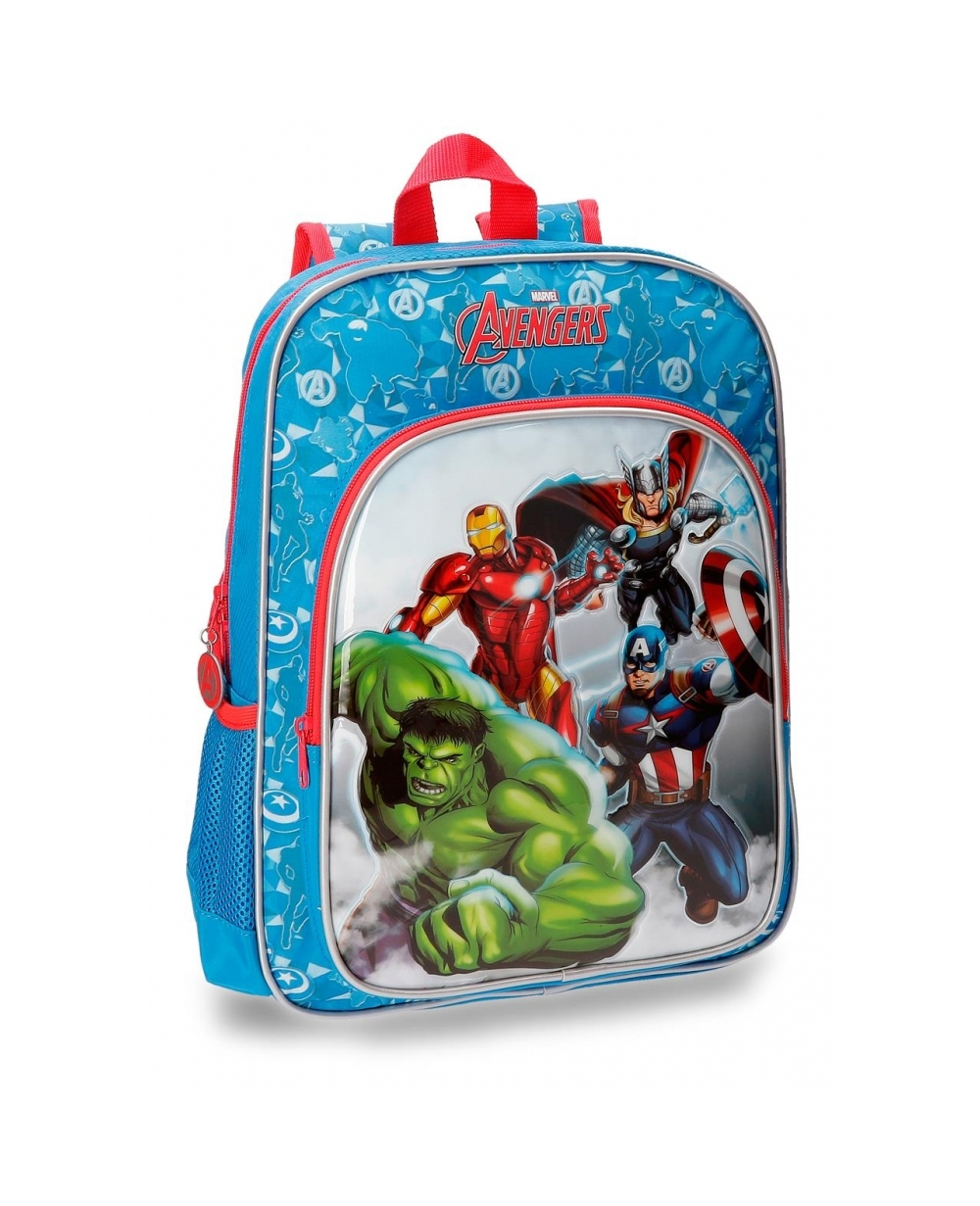 Marvel Avengers Clouds Mochila adaptable Azul (Foto )