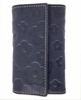 Llavero de piel Amichi Búfalo Azul - 10cm | Maletia.com