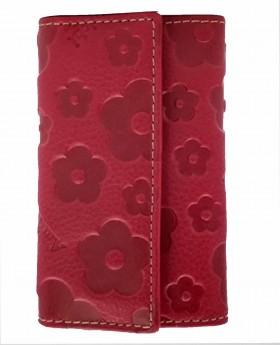 Llavero de piel Amichi Búfalo Cereza - 10cm | Maletia.com