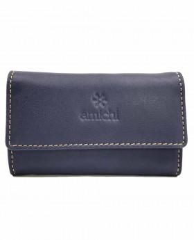Llavero de piel Amichi Floater Azul - 10cm | Maletia.com