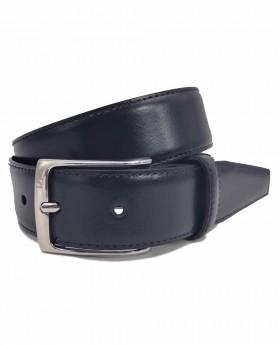 Cinturón de piel Dalvi Clásico Azul - 90cm | Maletia.com