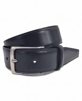 Cinturón de piel Dalvi Clásico Azul - 115cm | Maletia.com