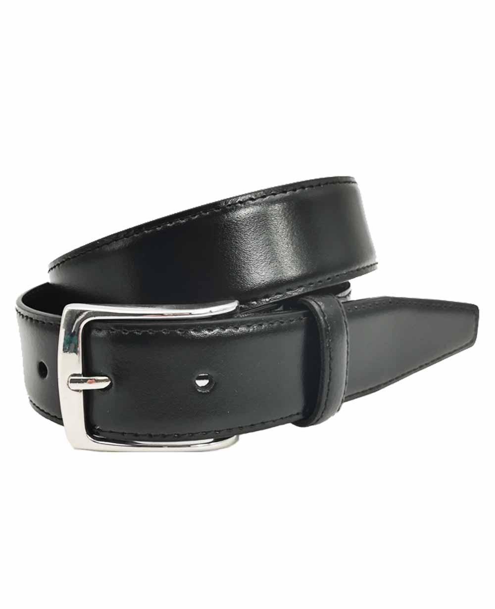 Dalvi Cinturón clásico Piel Negro 90 (Foto )