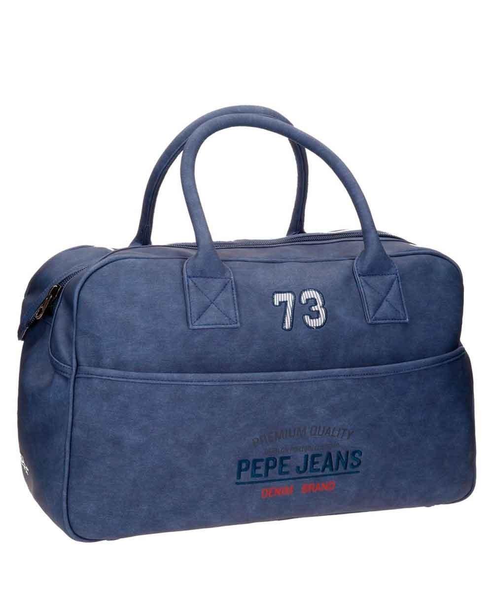 Pepe Jeans Jack Bolsa de Viaje Azul (Foto )