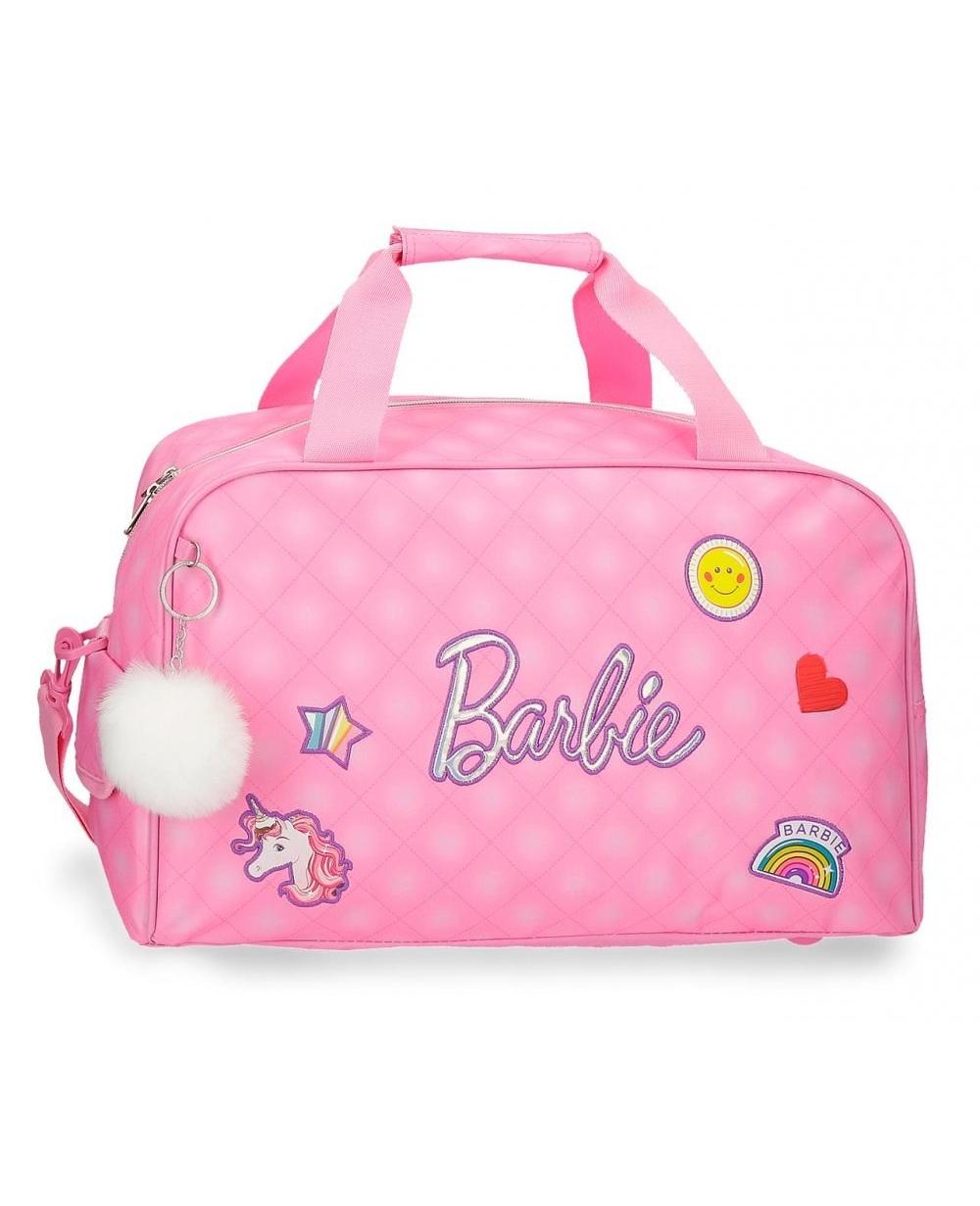 Barbie Fasion Bolsa de viaje Rosa (Foto )