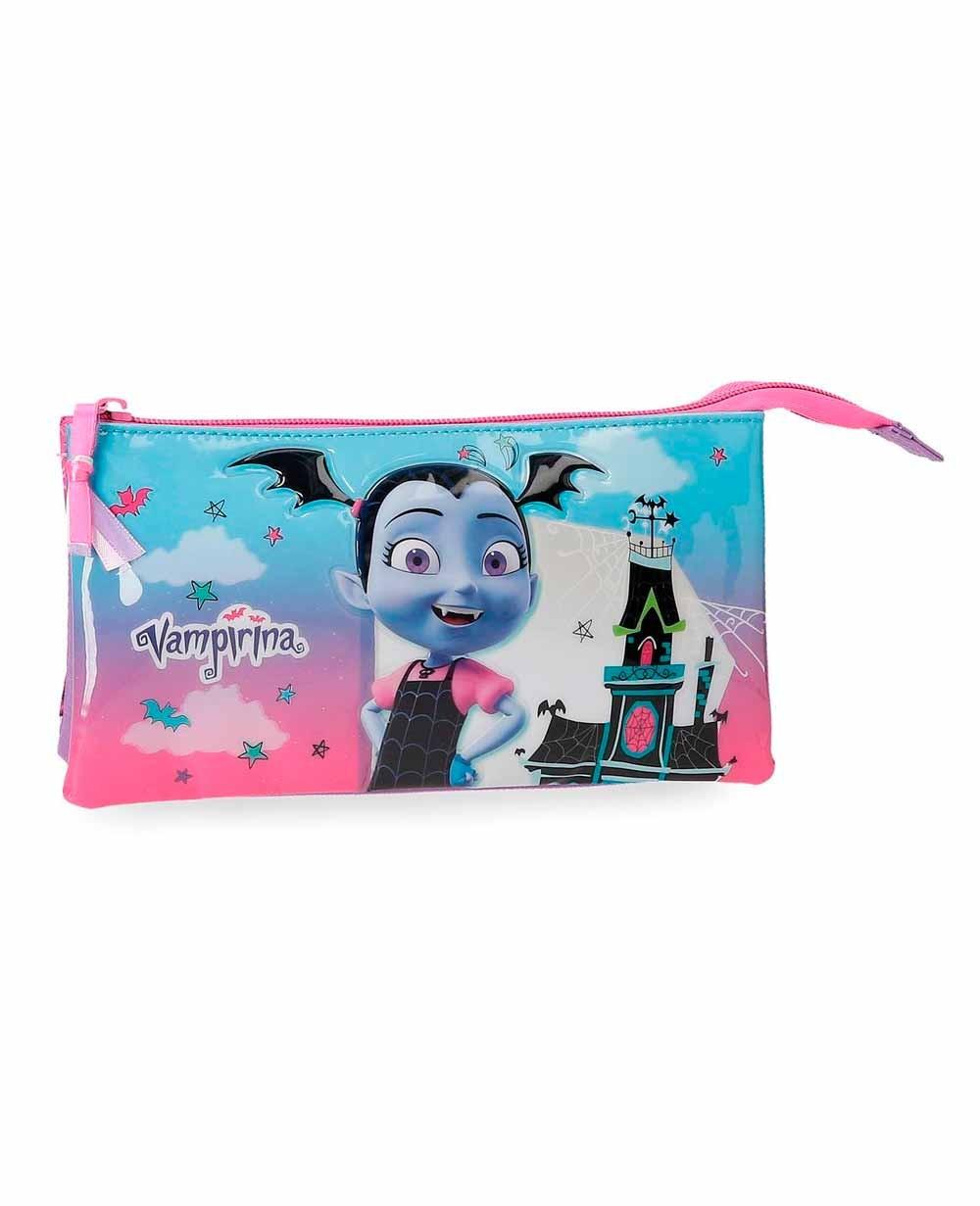 Disney Vampirina Estuche Rosa (Foto )