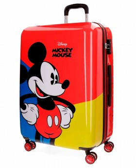 Maleta mediana Disney Mickey Red Roja - 69cm | Maletia.com