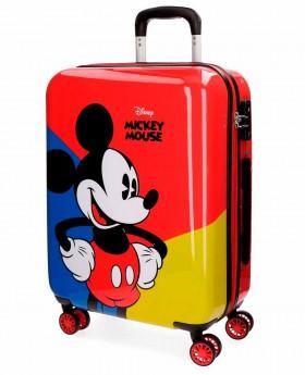 Maleta de mano Disney Mickey Red Roja - 55cm | Maletia.com