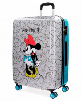 Maleta mediana Disney Minnie Blue Azul- 69cm | Maletia.com