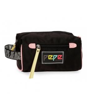 Neceser Pepe Jeans Mind Negro - 23cm | Maletia.com