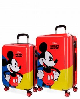 Juego de Maletas Disney Mickey Red Rojo | Maletia.com